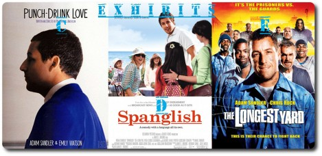 Punch Drunk Love, Spanglish & The Longest Yard in The Movie Jail Relay Race