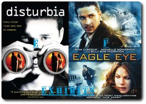 Disturbia & Eagle Eye